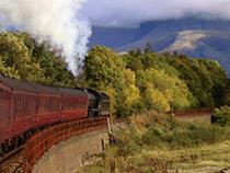 West Highland trainline Harry Potter train